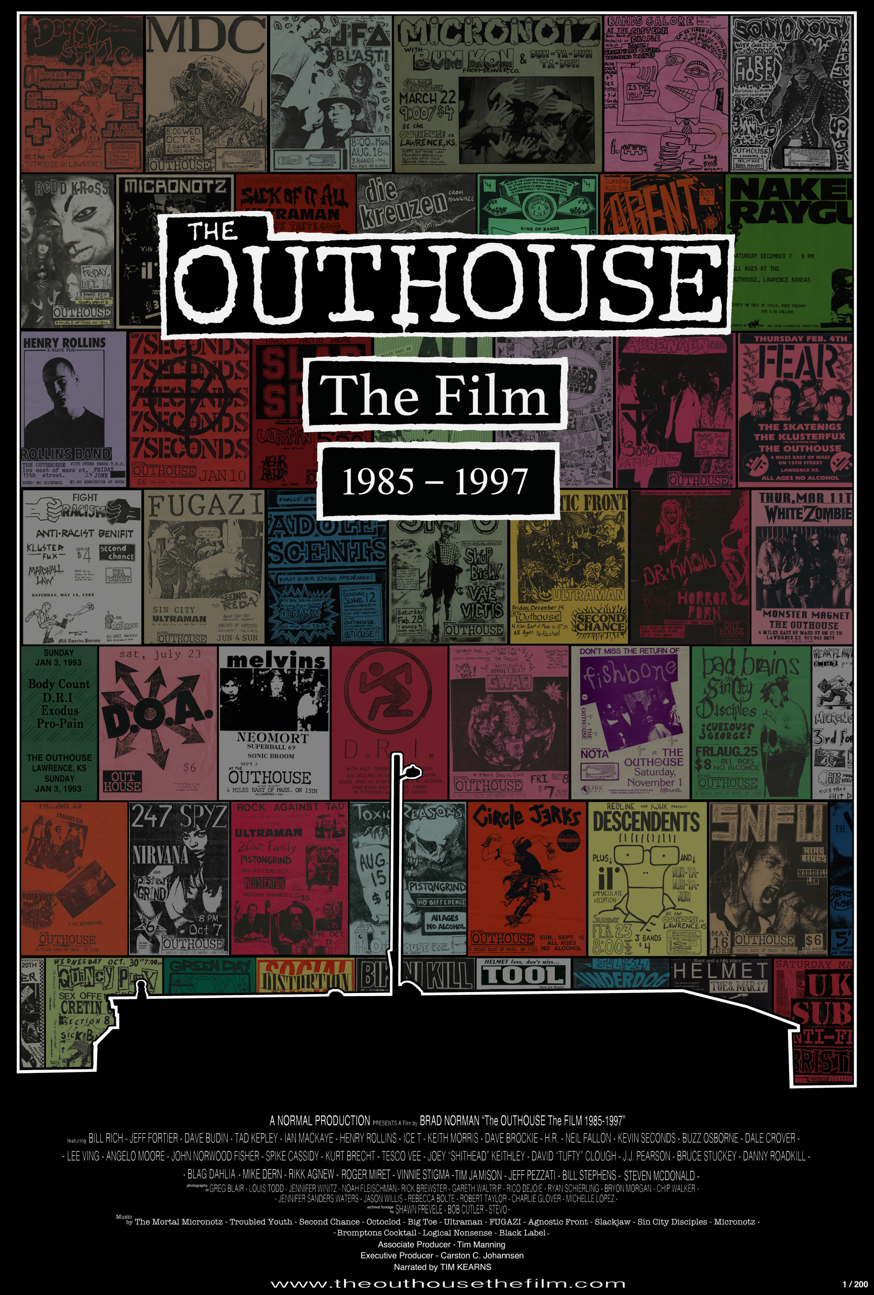 Limited Edition Of 200 The Outhouse The Film 1985 1997 Film Poster